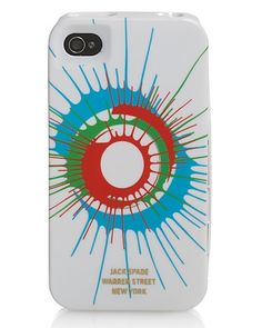 Jack Spade Spin Paint iPhone 4 Hard Case   Bloomingdale's