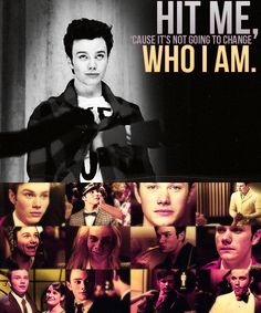 Kurt Hummel - Glee... His life can get hard, but he's stronger than yesterday.