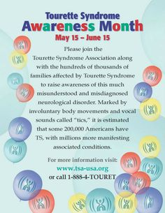 May 15 june 15 is tourette syndrome awareness month young boys tourette syndrome awareness month is may 15 through june 15 please repin this to help fandeluxe Images