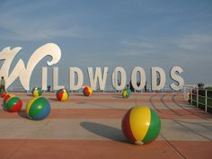 The Wildwoods sign at Rio Grande Ave and the boardwalk