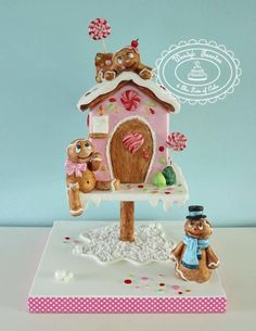 gingerbread house by Wendy Schlagwein