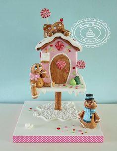 gingerbread house by Wendy Schlagwein