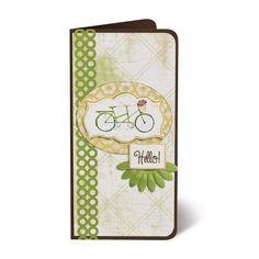 Hello! Classic Spring Stickers Scrapbooking Card Idea from Creative Memories #scrapbooking    http://www.creativememories.com