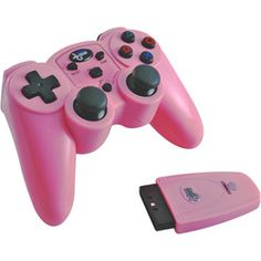 Magna Force Rf Wireless Controller For Ps2-Pink