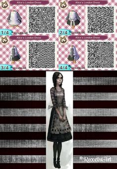 Alice's London Dress Design - ACNLQR by RoxelsGirl on deviantART