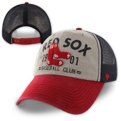 Red Sox Clean-Up - Flathead - Mesh