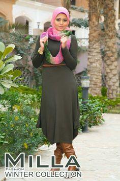 Milla winter hijab fashion – Just Trendy Girls