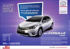Toyota Mauritius Ltd - Les Journées Perfect Match. Tél: 405 6400