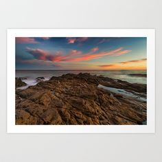 Light and the Tide Pools Art Print by Joel Olives - $19.99
