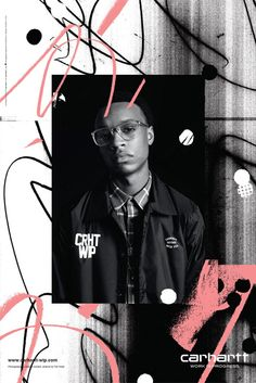Carhartt WIP graphic fashion lookbook for FW15, Fall winter 2015. Streetwear.