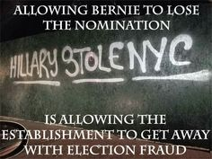 If anything, this election has proven how corrupt our voting system has become! It's time to eliminate SuperPAC's and our so-called delegate system. Get lobbyists and corporate money out of politics and end thr oligarchy!