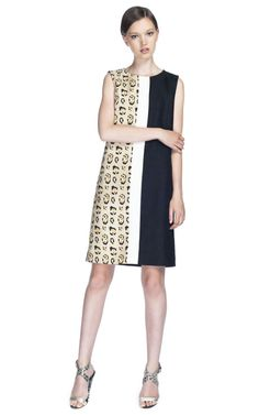 LOVE this @GiambattistaPR Resort 2013 cc: @Moda Operandi  elongate the squaare with color blocking and tiny patterns