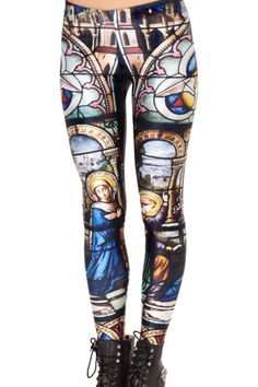 Cathedral Leggings- Black Milk