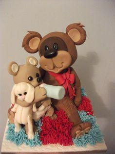 Teddy Feeds Teddy