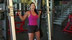 She's got lots of great videos on how to use many of the machines at the gym if you're new to it all.  Don't be gym-timidated.