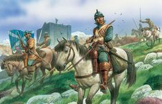 Scots Lancers, English Civil War