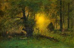 George Inness ~ Tonalist painter | The Hudson River School | Tutt'Art@ | Pittura • Scultura • Poesia • Musica