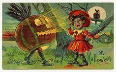 http://vintageholidaycrafts.com/wp-content/uploads/2008/07/vintage-halloween-scared-girl-owl-pumpkin-card.jpg
