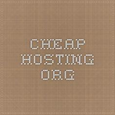 Cheap Hosting