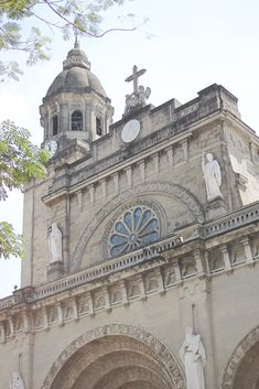 Intramuros is a city within walls in Manila. Here are photos of famous sites in beautiful historic Intramuros. Fort Santiago, Philippine Holidays, Intramuros, Manila Philippines, Walled City, Colonial Architecture, Spanish Colonial, Weekend Trips, Barcelona Cathedral