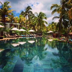 Photo by @barushk #RoyalPalm #Mauritius #bchotels #resort #spa #leadinghotels #leadingspa #pool #beach #indianocean