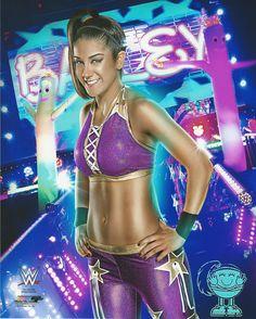 Bayley Nxt Wwe Divas Wrestling Promo Print Picture Photo 003