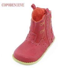 Copodenve Wiosna Jesien Kwiat Dzieci Chlopiec Buty Dziewczynki Buty Skorzane Obuwie Dzieciece Dla Malucha Dziewczyny Ma Childrens Shoes Boots Rubber Rain Boots