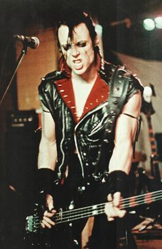 "Misfits (Glenn Danzig), they were one of the ""Glam/Goth"" punk bands out of NYC. #glam #sleaze #goth http://www.pinterest.com/TheHitman14/musician-glamsleaze/"