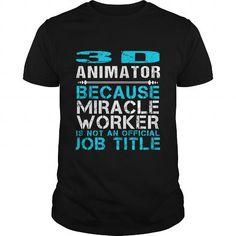 3D ANIMATOR Because FREAKIN Miracle Worker Isn