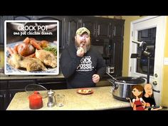 Crock Pot Chicken and Stuffing: Cookin' Cris' Dishes - YouTube