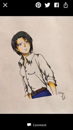 Female Levi AOT