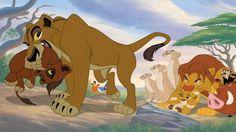 Zira and Kovu v. Simba and Kiara Watch The Lion King, The Lion King 1994, Lion King Fan Art, Lion King 2, Lion King Movie, Disney Lion King, Kiara Lion King, Simba And Nala, Big Cats Art