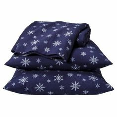 """100% Cotton, VERY SOFT FLANNEL, Children's SHEET SET 'SNOWFLAKES' (NAVY COLOR). TWIN by Home Collection. $68.00. Very soft flannel sheet set 'Snowflakes'.  Navy color. TWIN SIZE.  Fits Mattresses: Up to 13"""" Deep. Includes: 1 Pillowcase, 1 Fitted Sheet, 1 Flat Sheet. Weave Type: Plain. 100% cotton. Twin size"""