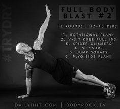 Full Body Blast Workout
