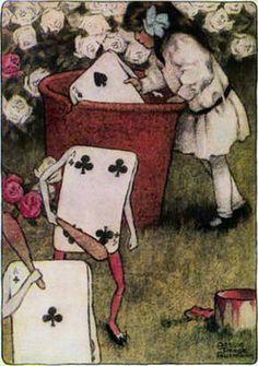 Alice by Bessie Pease Gutmann