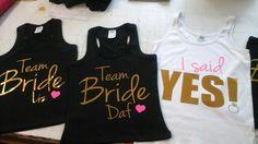 #ISaidYes #TeamBride #Diferente #eventshirts #kits #despedida #DespedidadeSoltera #Pedidos