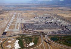 """Aeroporto Internacional de Salt Lake City"". #Salt Lake City. Utah, USA."