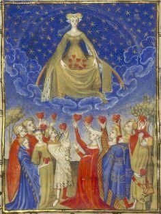 Thumbnail from the manuscript of 'L'Epistre Othea' by Christine de Pisan (15th century)