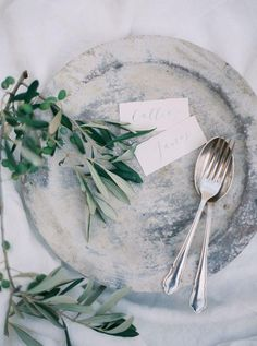 Italian inspiration // Styling: Lesley Lau / Photography: Brushfire Photography/ Flatware: Hélène Millot Furnishings