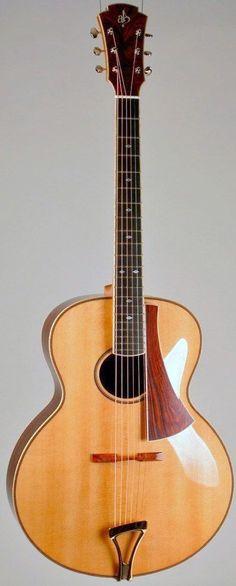 Andrews Guitars Aurora 16 Archtop --- https://www.pinterest.com/lardyfatboy/