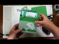Gift Bag Punch Board: A2 Size Bag - YouTube