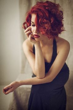 Short and Wavy Red Hairstyles!