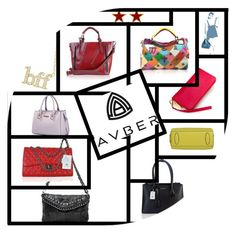 """""""AVBER Bags"""" by lisalee11 on Polyvore"""