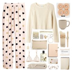 Designer Clothes, Shoes & Bags for Women Cute Pajama Sets, Cute Pajamas, Cute Lazy Outfits, Chill Outfits, Stylish Outfits, Looks Chic, Looks Style, Teen Fashion Outfits, Outfits For Teens