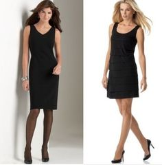What Hose To Wear With A Black Cocktail Dress Outfit
