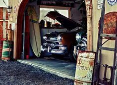A dream garage!