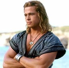 brad pitt Troy,brad pitt Troy Wallpapers,brad pitt Troy hair.