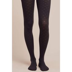 Tintoretta Dotted Charcoal Tights ($28) ❤ liked on Polyvore featuring intimates, hosiery, tights, dark grey, charcoal tights, spandex tights, dot tights, polka dot stockings and lycra tights