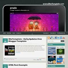 Prado blogger template. convert wordpress theme to blogger template. template nivo slider for blogger. blogger template with 3 column footer...