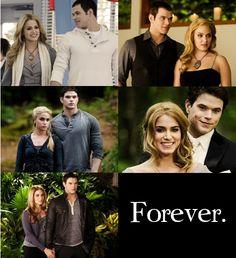 The Twilight Saga: Rosalie and Emmett. Twilight Quotes, Twilight Saga Series, Twilight Cast, Twilight New Moon, Twilight Pictures, Twilight Movie, Emmett Twilight, Rosalie Twilight, Twilight Wedding